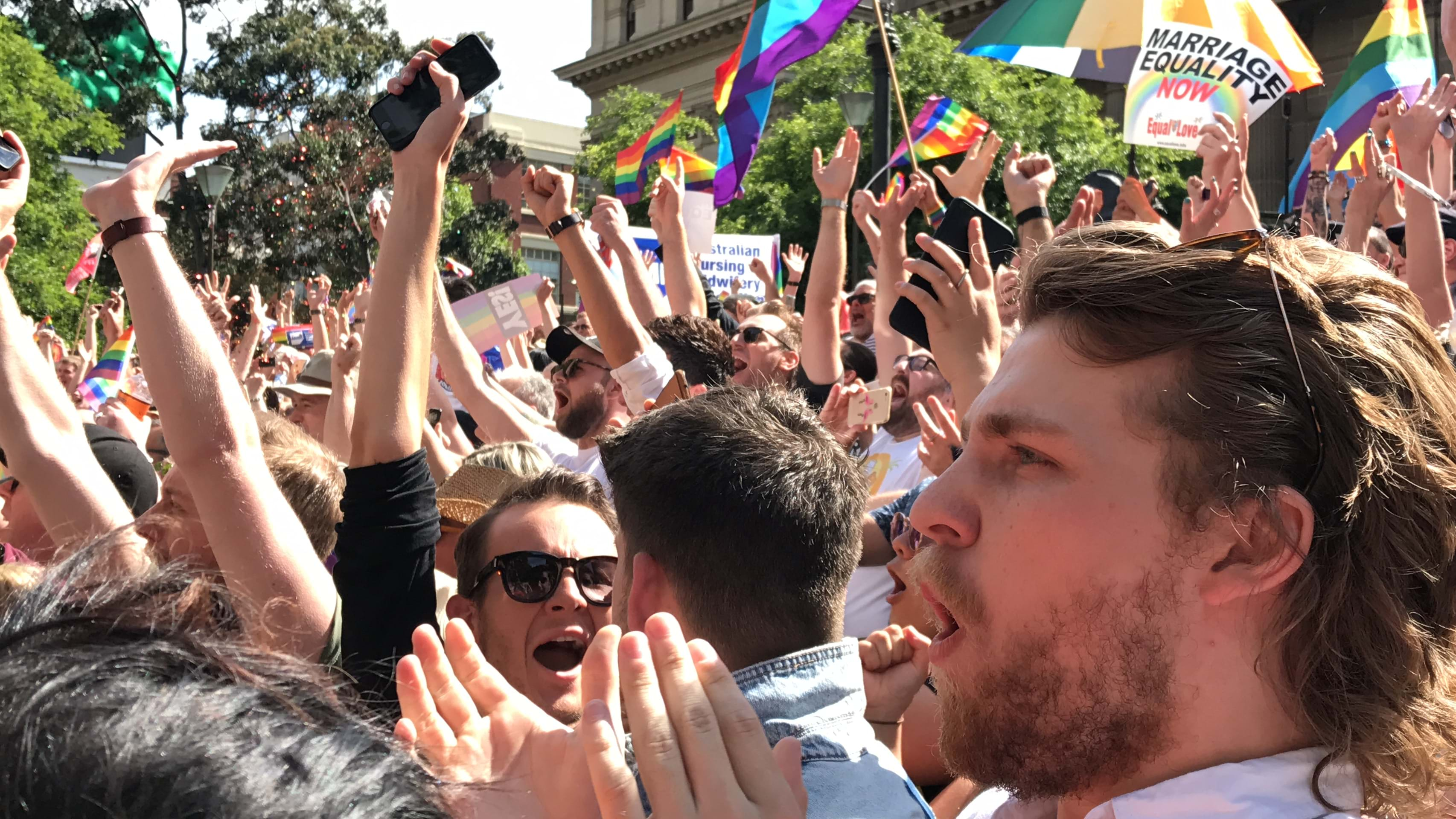Article heading image for Here's Where To Celebrate The Marriage Equality Survey Result In Melbourne!