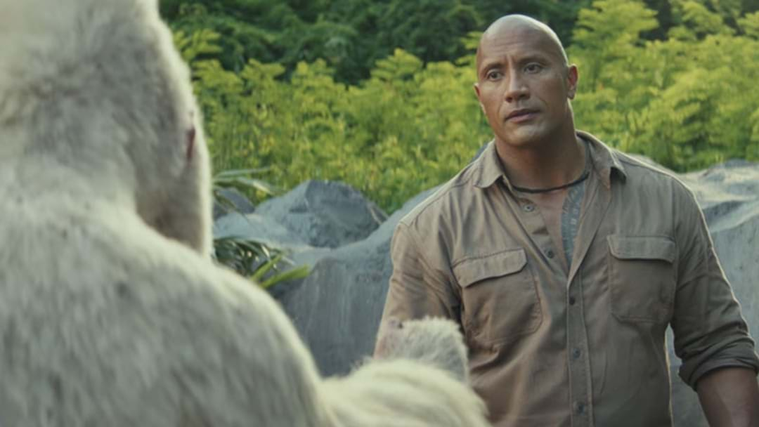 The First Official Trailer For Rampage With Dwayne Johnson Is Here!