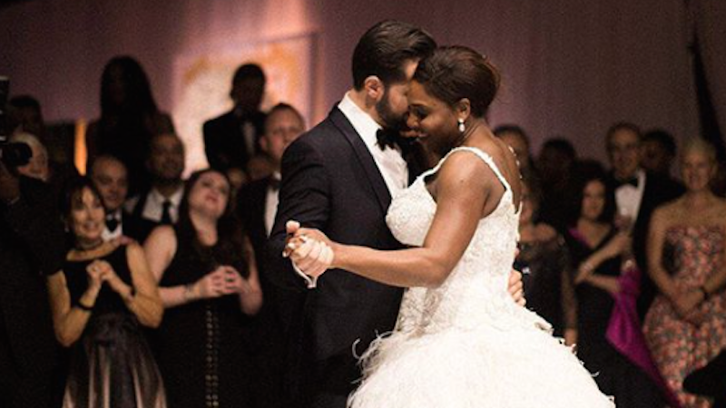 Article heading image for The FIRST Magical Photos Of Serena Williams Wedding Are Here