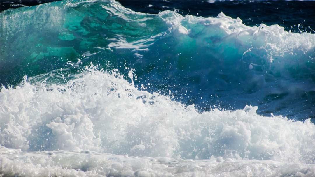 Beaches No-Go Zone Amid Wild Weather