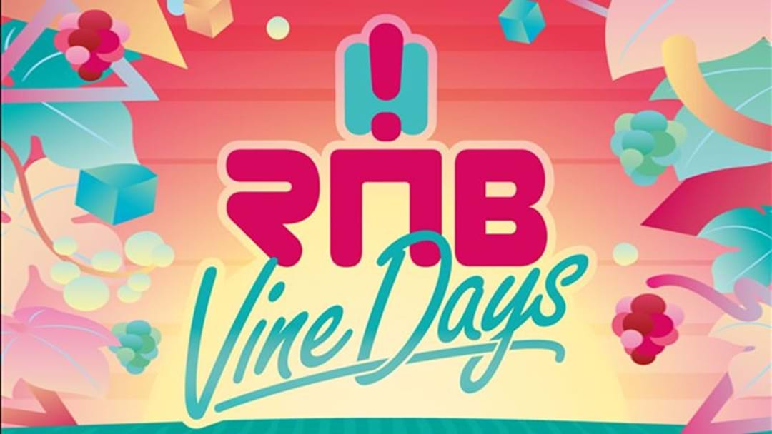 Get Your RnB Vine Days Tickets
