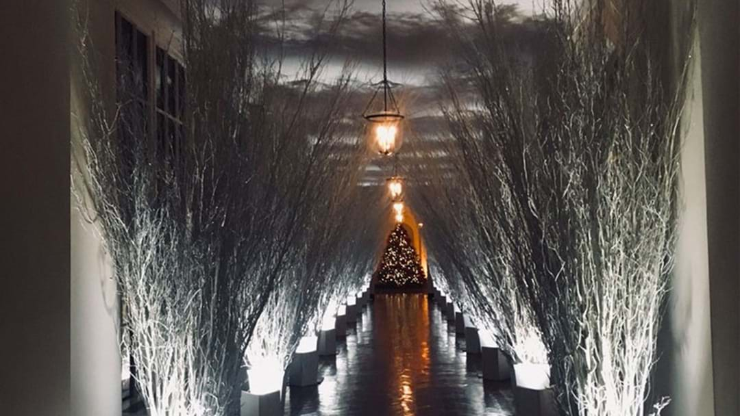 No One Can Get Over The White House S Christmas Decor This