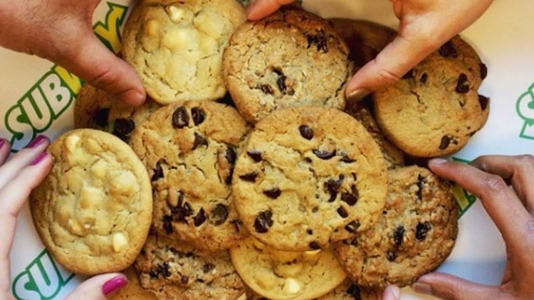 Subway Are Giving Out Free Cookies In Sydney Today!