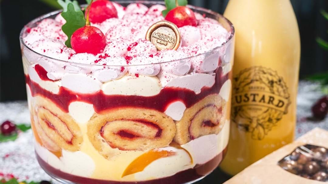 Messina Has Just Released A Christmas Gelato Trifle