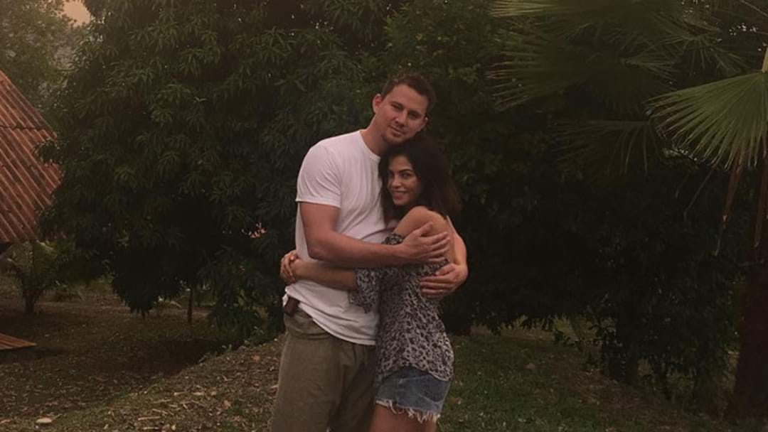 Channing Tatum Posts Loving Message To Wife Jenna To Remind Us All Of Their Superior Love