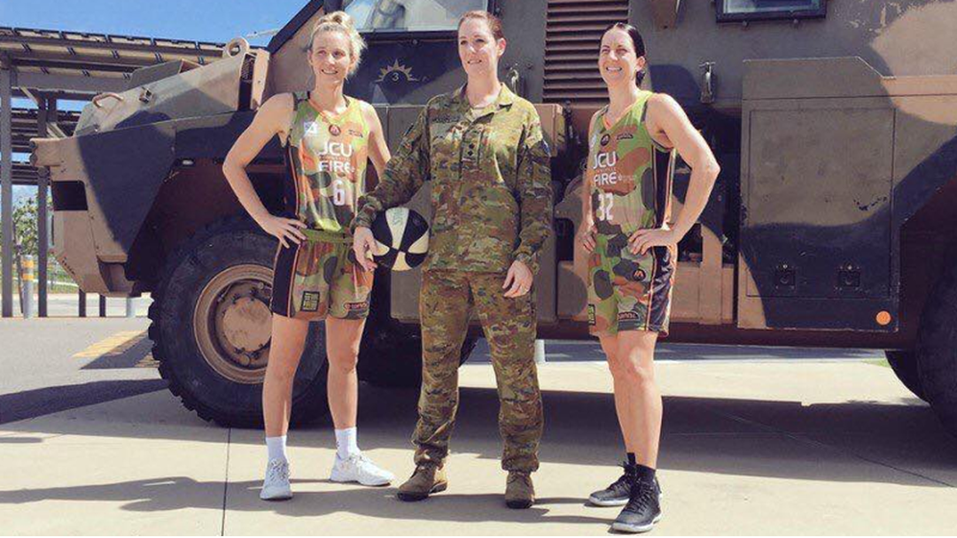 Townsville Fire Set To Pay Tribute To Defence
