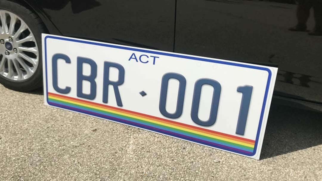 RAINBOW NUMBER PLATES TO CELEBRATE EQUALITY