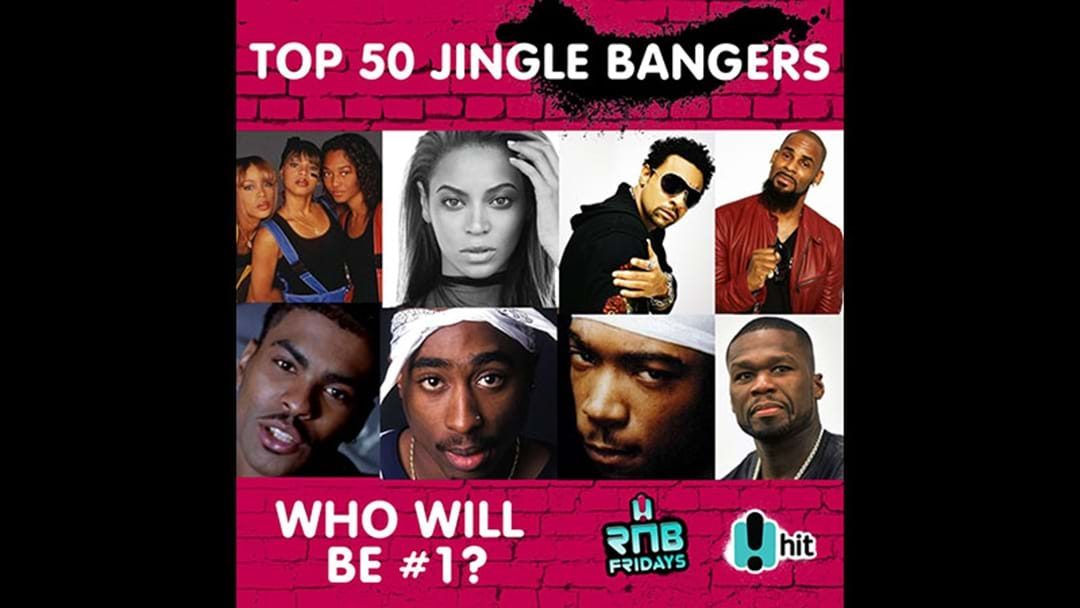 Top 50 Jingle Bangers - RnB Fridays