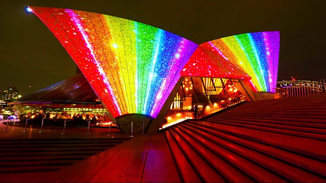 The Sydney Opera House Is Lighting Up For Marriage Equality