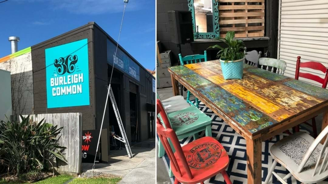 A fun community space just opened in Burleigh!