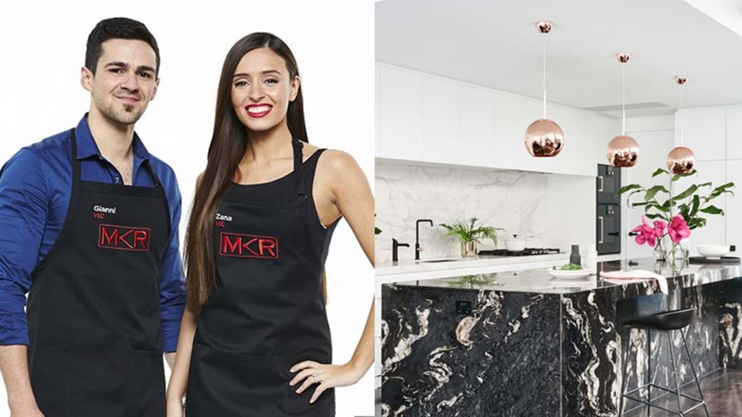 MKR's  Zana & Gianni Let Us Inside Their Melbourne Mansion