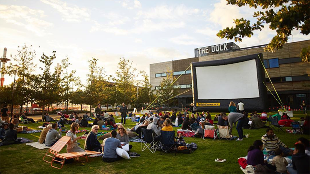 Victoria Harbour's Open Air Cinema Is Back & It's FREE!