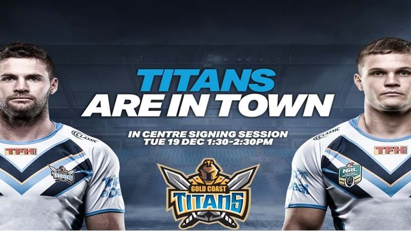 Article heading image for Gold Coast Titans Visit Toowoomba