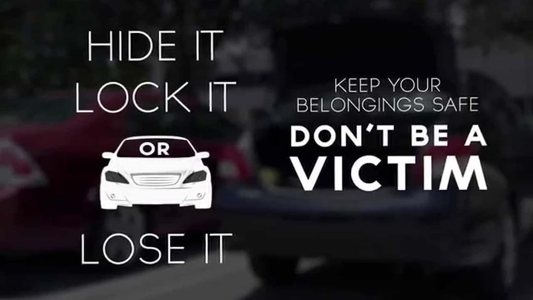 """Lock It or Lose It"" A Reminder from Police"