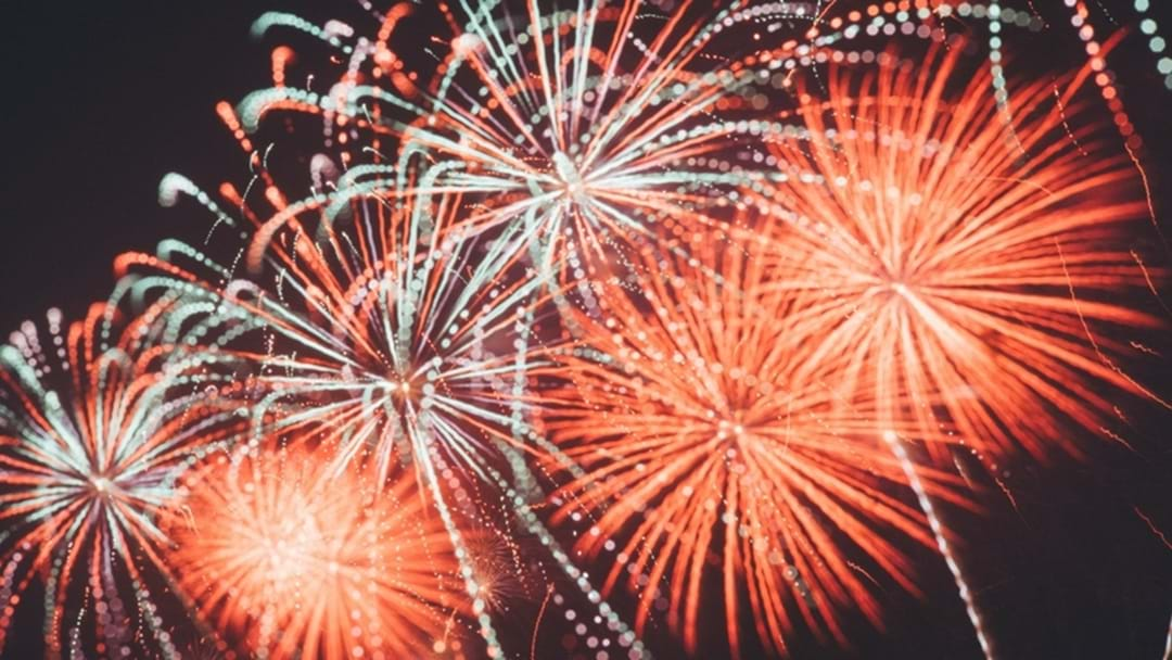 This is where you can see New Years fireworks on the Gold Coast