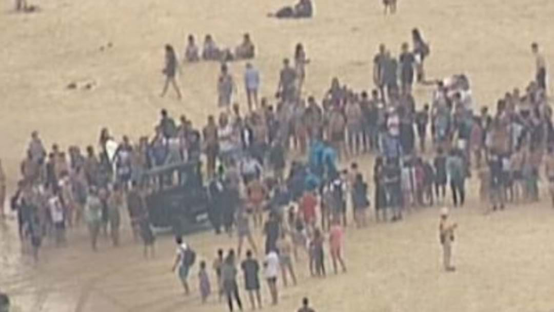 Man Pulled From Surf At Bondi Beach