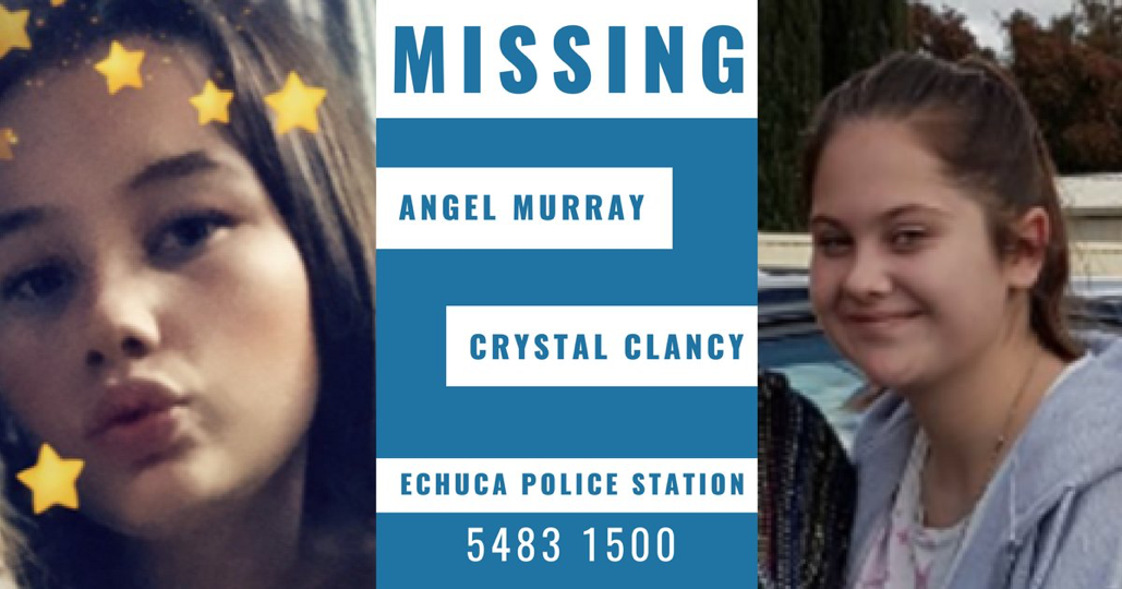 Article heading image for Missing Girls Angel Murray and Crystal Clancy