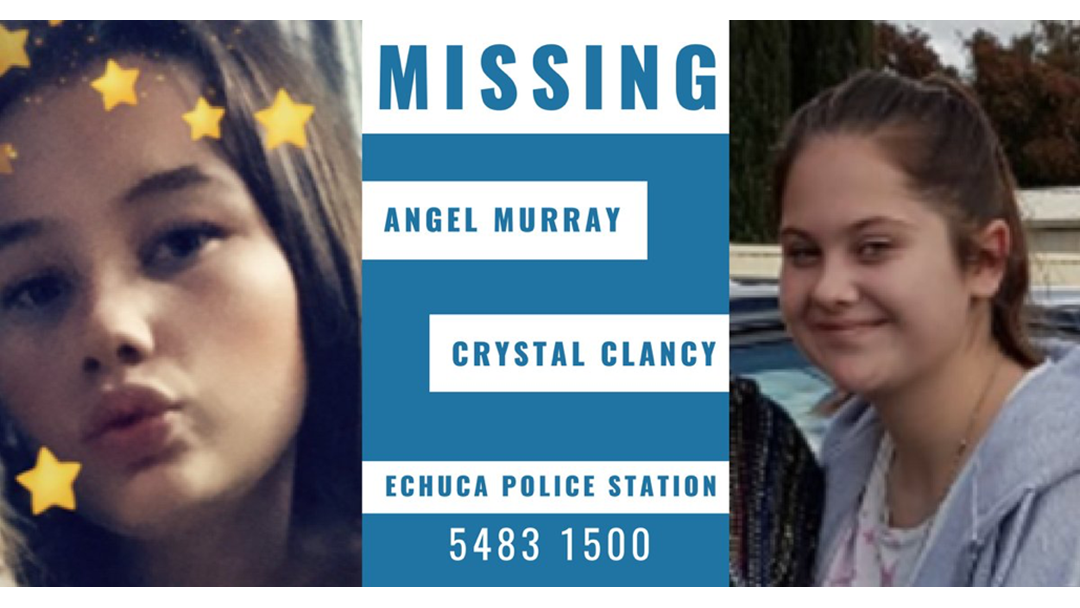 Missing Girls Angel Murray and Crystal Clancy