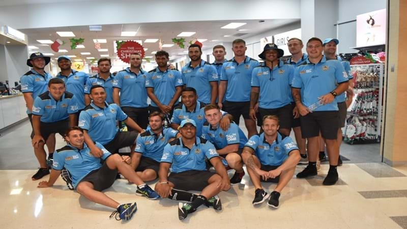 Article heading image for Fans Line-up to Meet the Gold Coast Titans