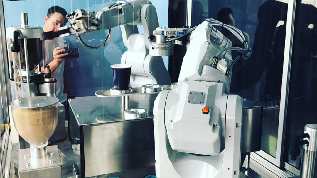 A Robot Is Now Making Coffee At This Melbourne Café
