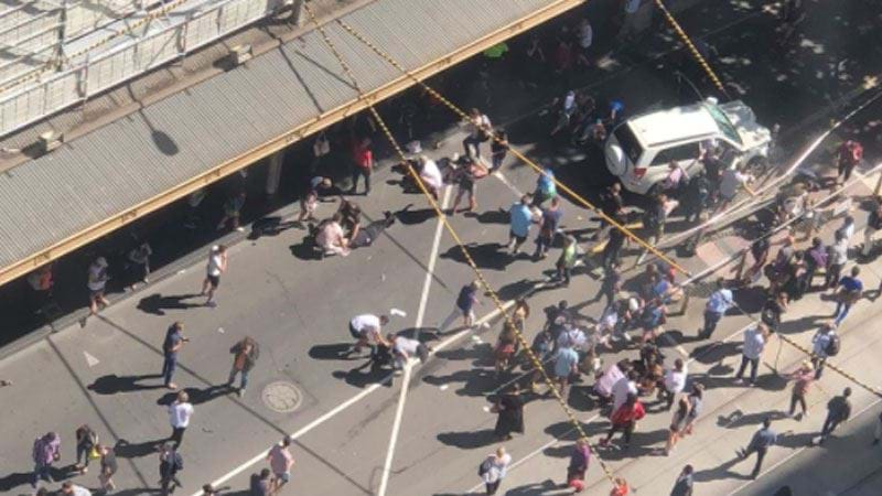 Twelve People Remain In Hospital Following Flinders Street Attack