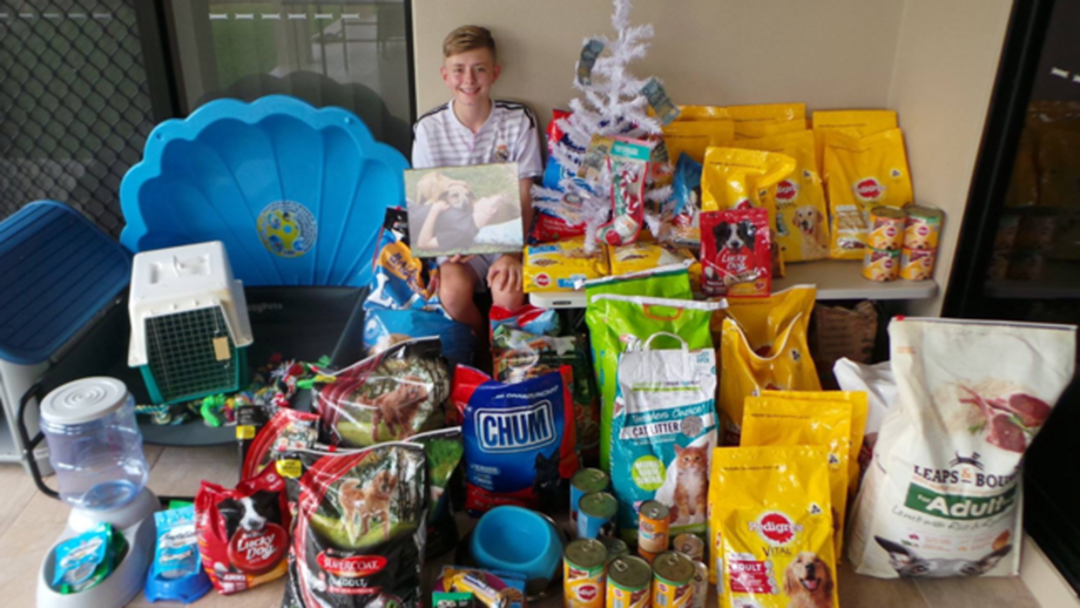 Townsville Teen Donated $1000 Of Goodies To RSPCA