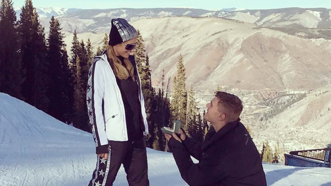 That's Hot: Paris Hilton Is Officially Engaged!