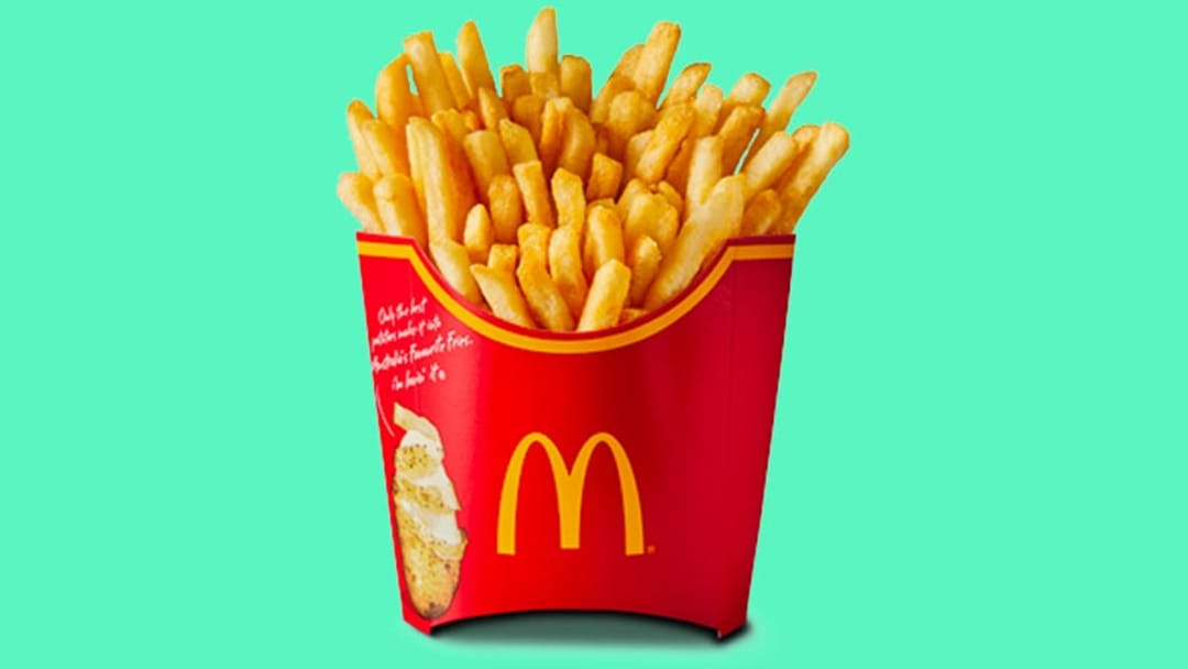 Women Are Eating Macca's Chips After Sex To Try & Help Them Fall Pregnant