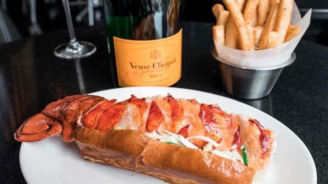 There's a Lobster Roll & Champagne Pop Up coming to the Gold Coast!