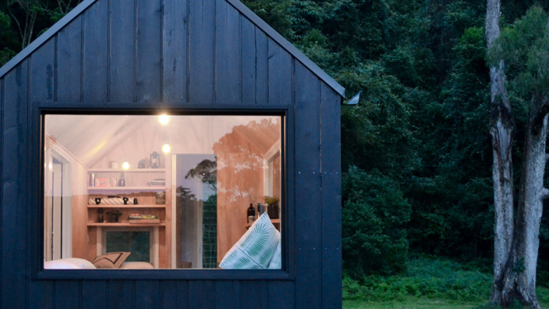 You Can Now Escape To A Wilderness Cabin Just Outside of The City