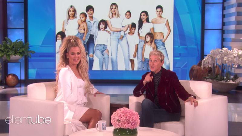 Ellen Says Khloe Just Confirmed Kylie's Pregnancy