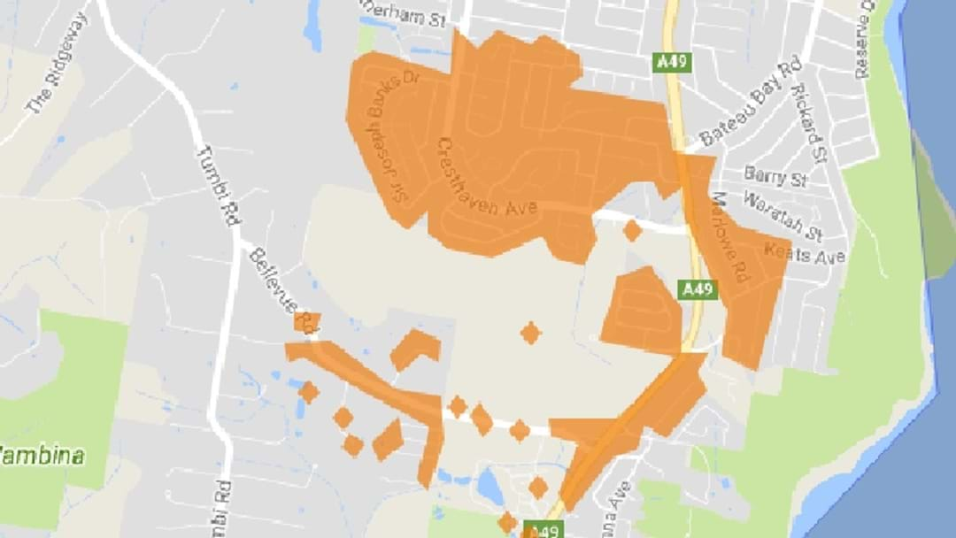1900+ Homes Without Power In Wamberal, Forresters Beach, Bateau