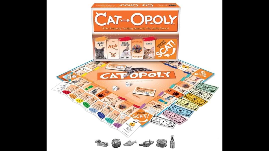 Cat-Opoly Has Arrived So You Can Fight With Your Family Over Buying Cats
