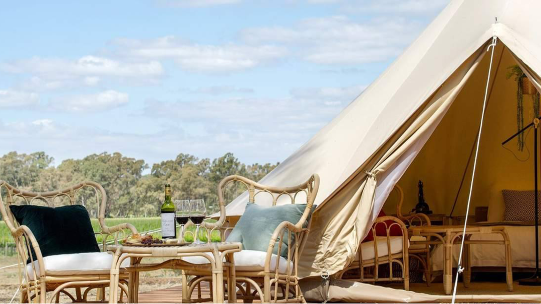 You Can Now Go Glamping At This Victorian Winery