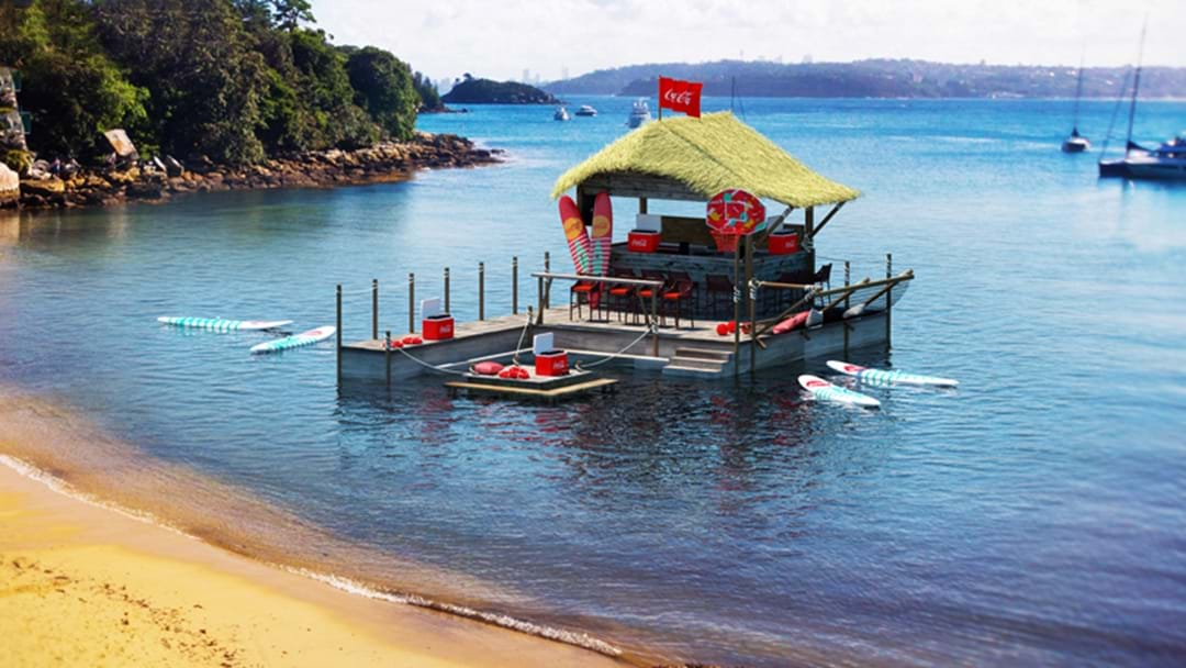 Coca-Cola Is Throwing An 'EPIC' Summer Pontoon Party On Sydney Harbour This Weekend