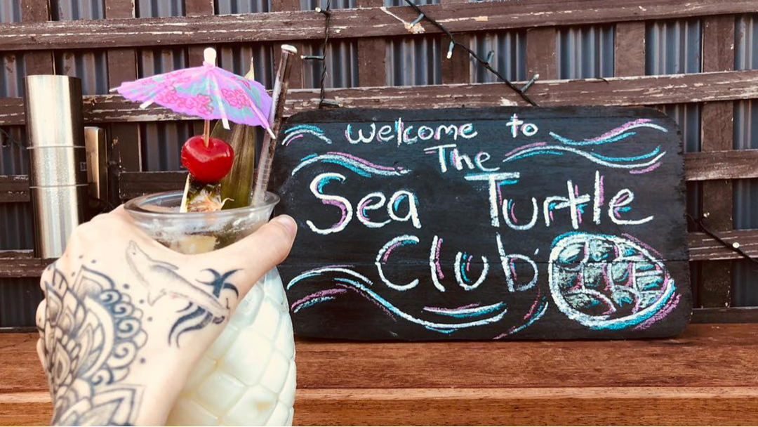 This New Tiki Bar Is Entirely Plastic Free For An Amazing Cause