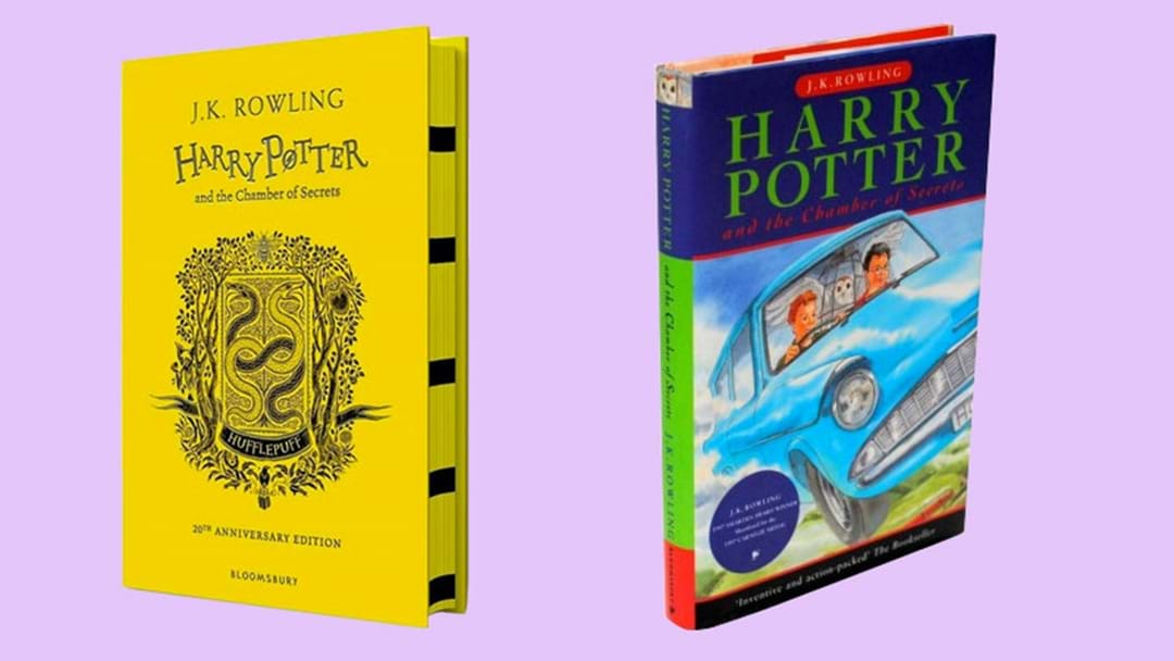 It's Been 20 Years Since 'Chamber Of Secrets' & We're Getting New Covers To Celebrate!