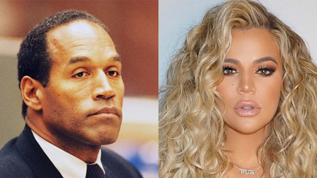 O.J. Simpson Responds To Rumour That He's Khloé Kardashian's Biological Father