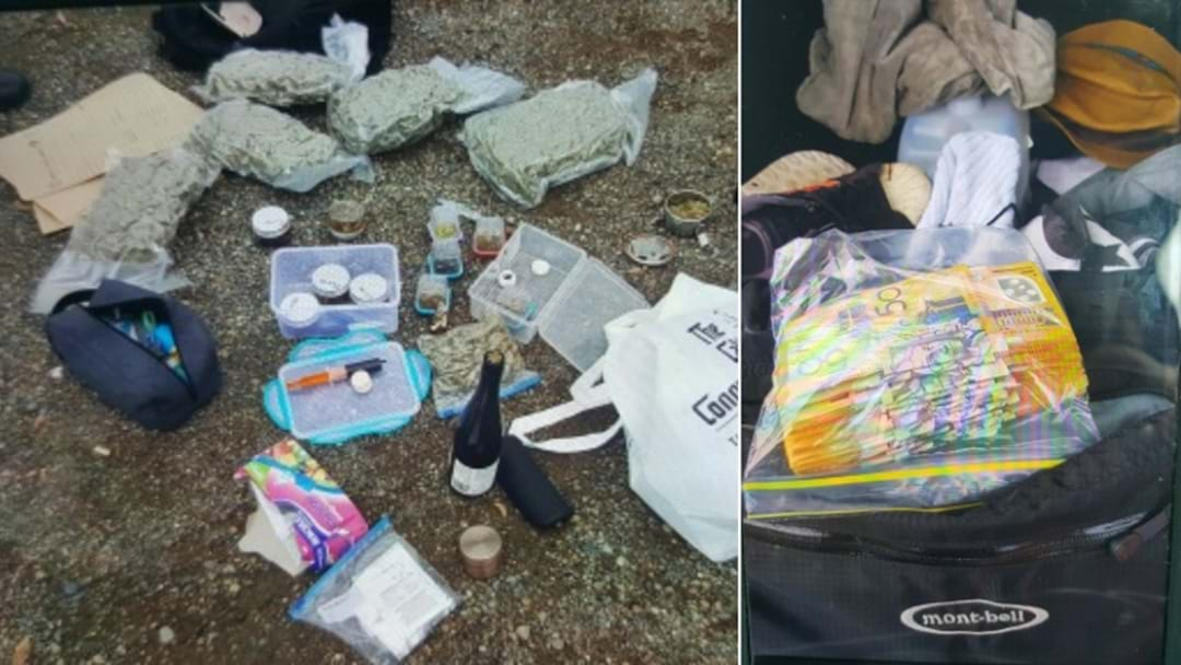 Drugs, Cash Found In Speeding Car On M1