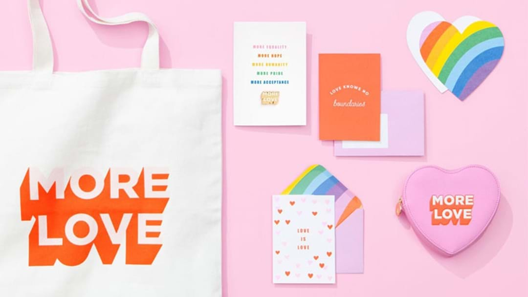 Kikki.K Are Launching A 'More Love' Range Celebrating Same-Sex Marriage This Valentines Day!