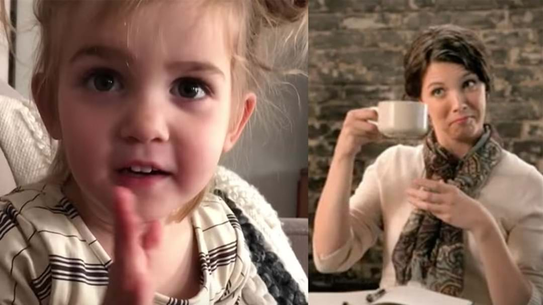 This Little Girl's Relatable Video About Coffee Is Absolutely Hilarious!