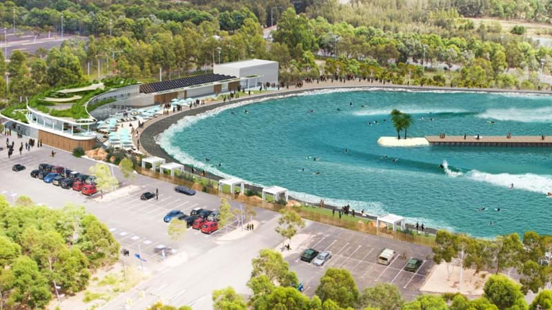 Article heading image for A Surf Park Is Coming To Sydney Olympic Park