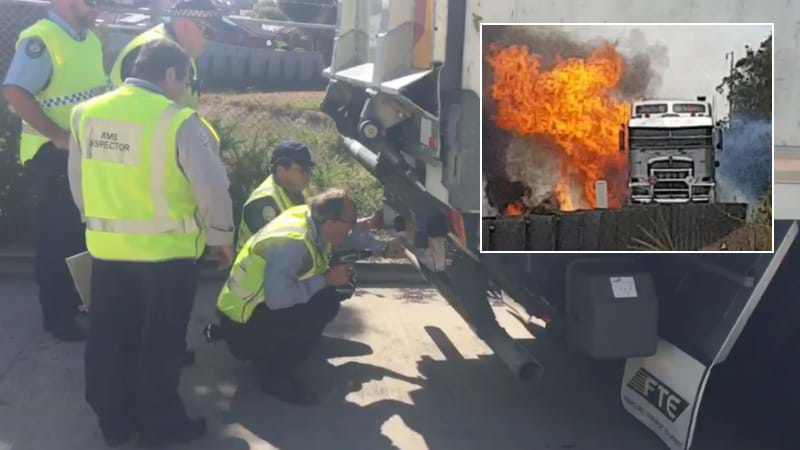 Truck Company Under Microscope After M1 Crash