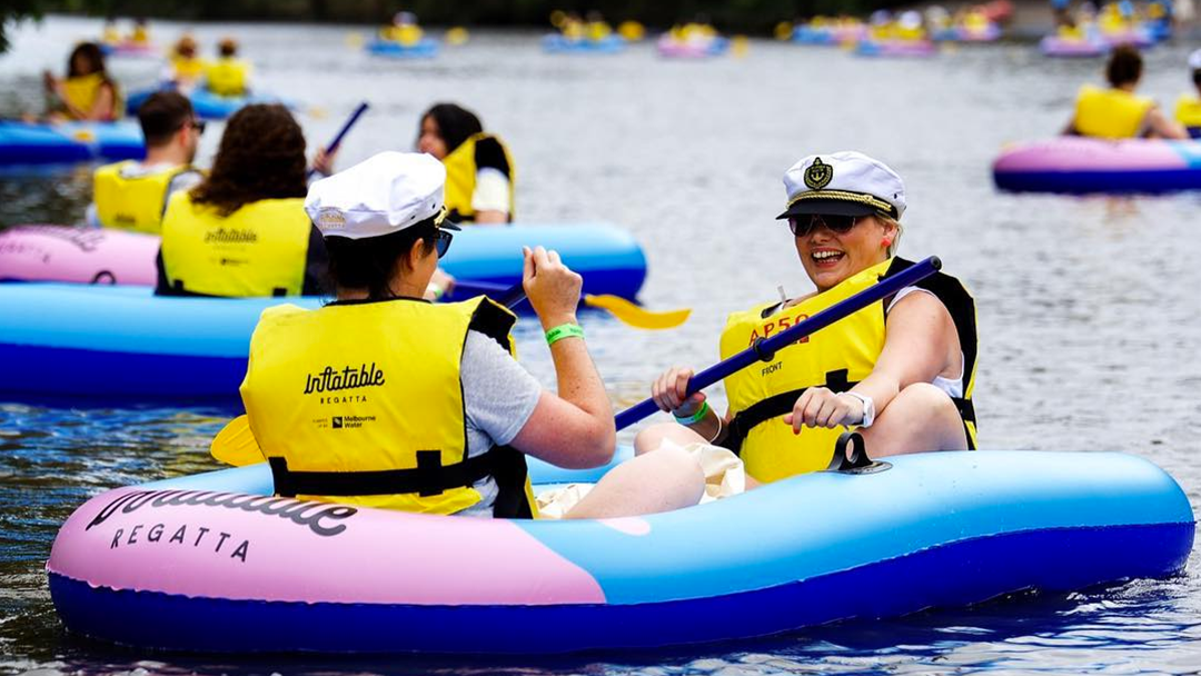 Get Ready To Cruise Down The Yarra: Inflatable Regatta Is Back