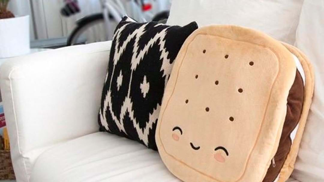 It May Be 40°C But I Need To Warm Myself Up With This Adorable Heated S'Mores Pillow