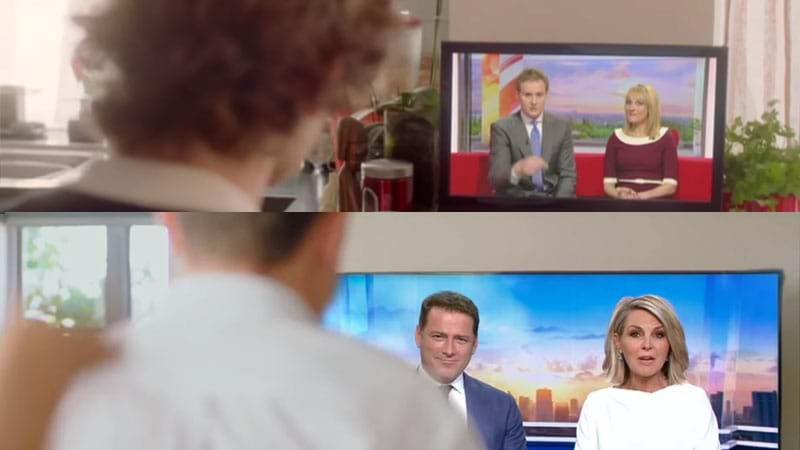 The BBC Threw Shade At Channel Nine For Ripping Off Their Ad