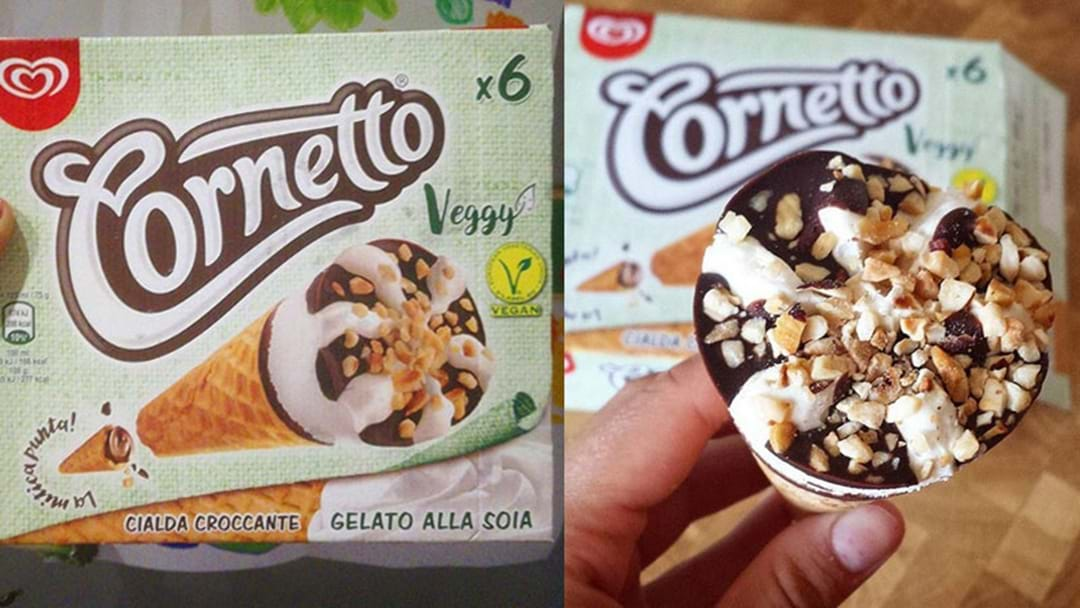 Cornetto Has Launched Vegan Ice Cream In Europe & It's Starting To Spread