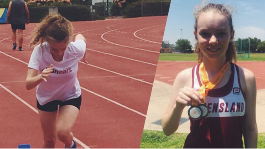 Townsville Teen Scores Her First Medals At Deaf Games