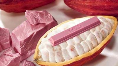 Kit Kat Drops New Pink Flavour