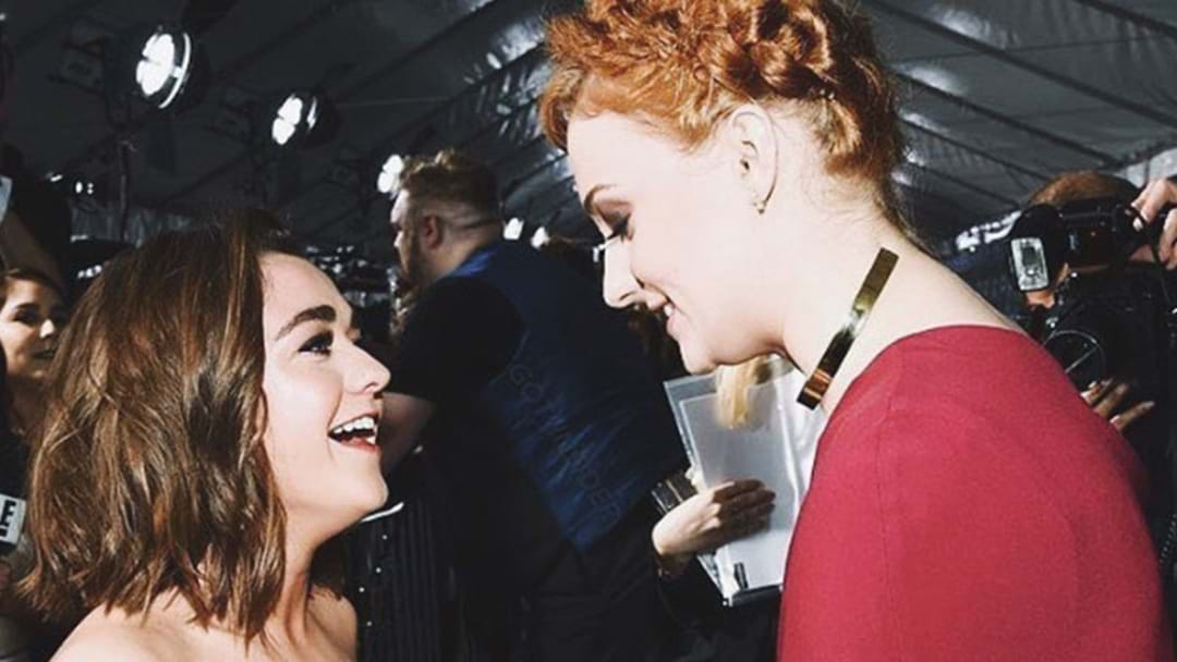 Ultimate BFF Maisie Williams Confirms Her Place As Sophie Turner's Bridesmaid